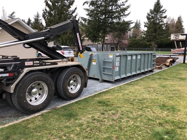25 cubic yard bin
