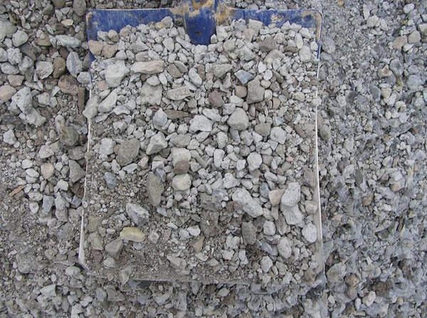 "1"" Crushed Concrete"