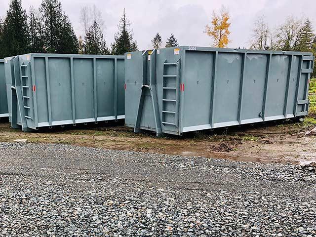 50 cubic yard bin