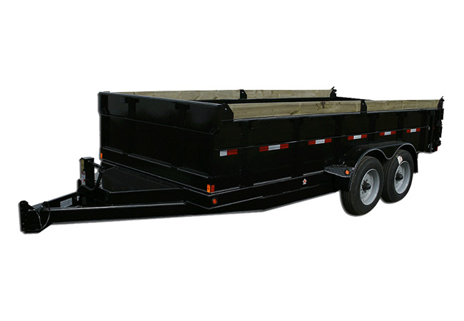 Double A 12Ft Consumer Dump Trailer