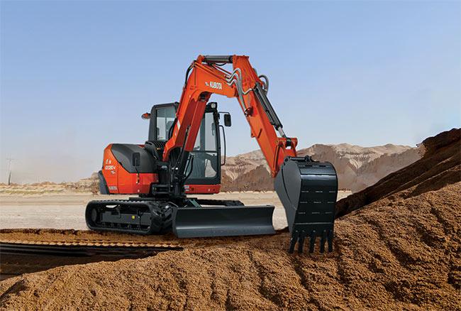 Kubota KX080-4S Excavator