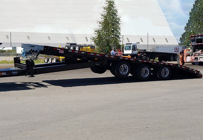 Raja TAG / Rear Loader Trailer