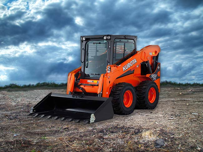 SSV 75 Kubota Wheel Loader